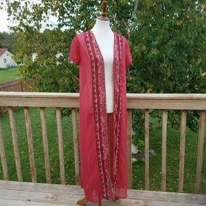 Anthropologie • Petticoat Alley Kimono Duster